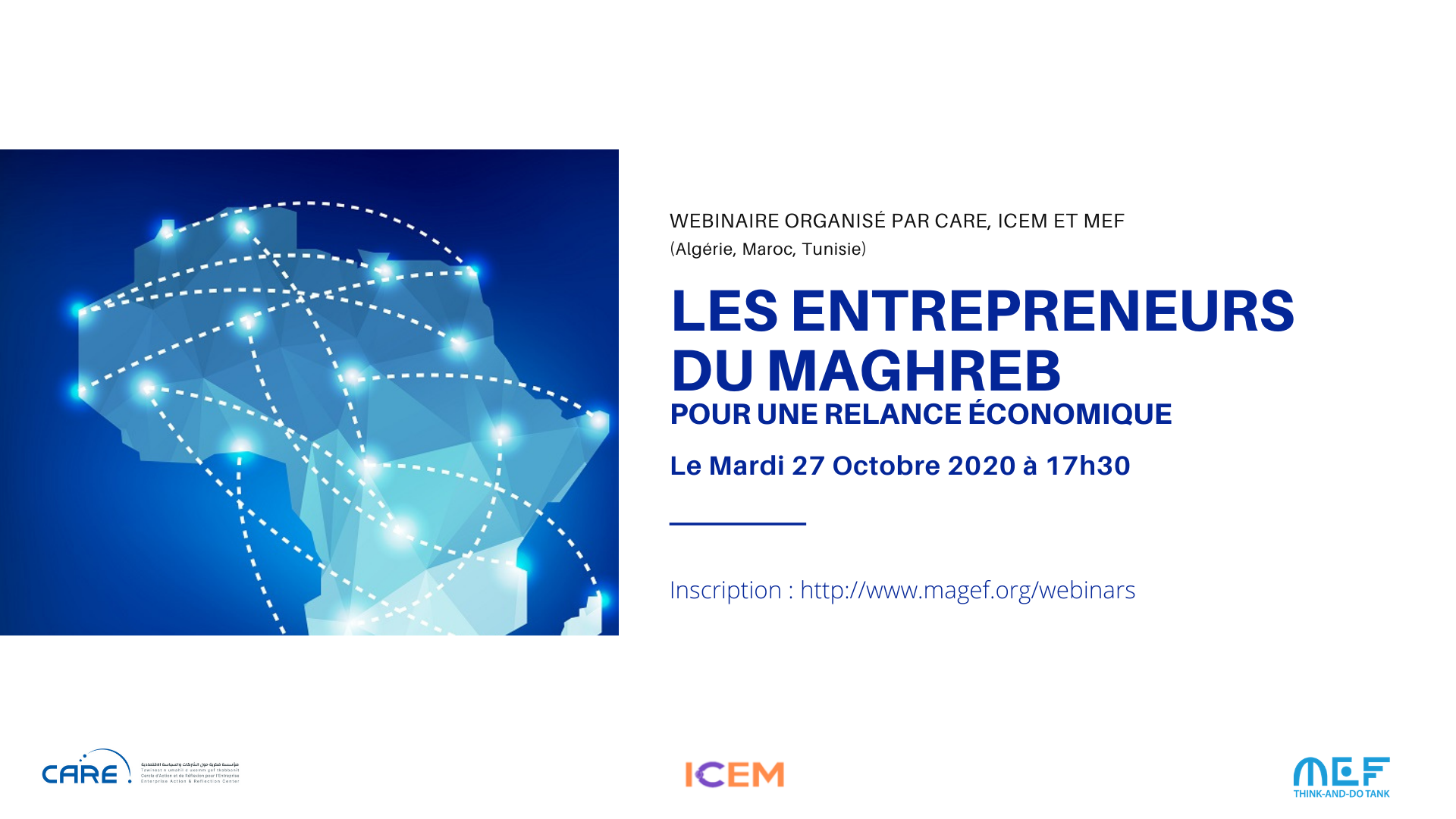 Entrepreneurs Maghrébins: Mobilisation pour la relance